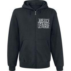 Bejsbolówki męskie: Justice League Splatter Squad Bluza z kapturem rozpinana czarny