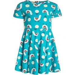 Sukienki dziewczęce z falbanami: Frugi KIDS SPRING SKATER DRESS Sukienka z dżerseju turquoise