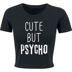 Topy damskie: Cute But Psycho Top damski czarny