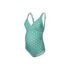 Mama licious  Kostium kąpielowy dla kobiet w ciąży MLNANCY Marine Green - zielony - Gr.Odzież ciążowa. Zielona stroje kąpielowe ciążowe Mama Licious. Za 139,00 zł.