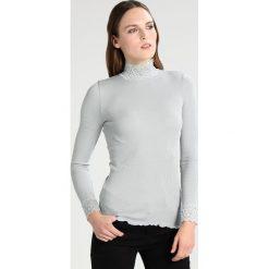 Bluzki asymetryczne: Rosemunde Bluzka z długim rękawem puritan grey