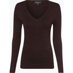 Swetry klasyczne damskie: Marie Lund - Sweter damski, brązowy