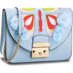 Torebka FURLA - Metropolis Papillon 963001 B BOU0 J06 Fiordaliso e. Niebieskie torebki klasyczne damskie Furla, ze skóry. Za 1815,00 zł.