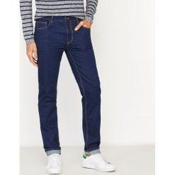 Jeansy slim. Niebieskie jeansy męskie slim La Redoute Collections. Za 70,52 zł.