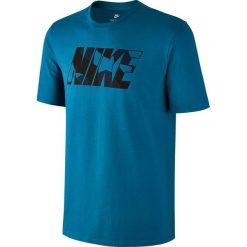 Nike Koszulka męska M Nsw Tee PRNT Pk ZINC niebieska r. S (847650 457). Niebieskie koszulki sportowe męskie marki Nike, m. Za 77,33 zł.