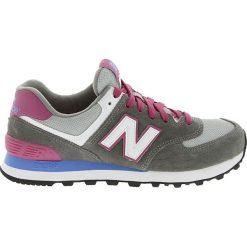 New Balance - Buty. Szare buty sportowe damskie New Balance, z materiału. W wyprzedaży za 229,90 zł.