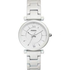 Zegarek FOSSIL - Carlie ES4401 White/White. Różowe zegarki damskie marki Fossil, szklane. Za 649,00 zł.