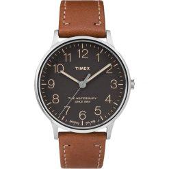 Zegarek Timex Męski TW2P95800 Waterbury Collection brązowy. Brązowe zegarki męskie Timex. Za 309,99 zł.