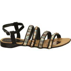 Sandały damskie: Sandały - 2648 PEL NERO
