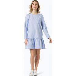 Marc O'Polo Denim - Sukienka damska, niebieski. Niebieskie sukienki hiszpanki Marc O'Polo DENIM, s, z denimu, polo. Za 529,95 zł.