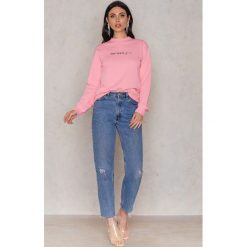 Bluzy rozpinane damskie: Statement By NA-KD Influencers Bluza Linn Ahlborg - Pink