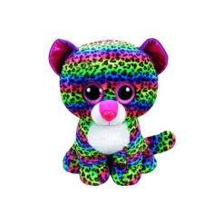 Maskotka TY INC Beanie Boos  Dotty - Kolorowy leopard 24cm 37074. Szare przytulanki i maskotki marki TY INC. Za 39,99 zł.