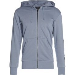 Bluzy męskie: adidas Performance Bluza rozpinana raw steel/collegiate navy
