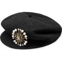Czapka TWINSET - Basco OA8T93 Nero 00006. Czarne czapki zimowe damskie Twinset, z materiału. Za 339,00 zł.