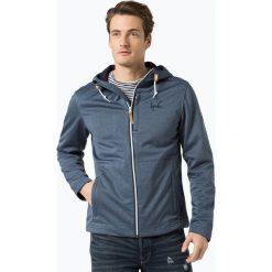 Derbe - Męska kurtka funkcyjna – Isle of Skye, niebieski. Niebieskie kurtki męskie marki Derbe, m, sportowe. Za 399,95 zł.