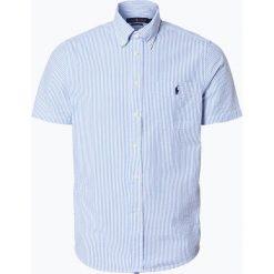 Polo Ralph Lauren - Koszula męska, niebieski. Niebieskie koszule męskie na spinki Polo Ralph Lauren, m, polo, z krótkim rękawem. Za 299,95 zł.