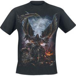 T-shirty męskie z nadrukiem: Spiral Ride Or Die T-Shirt czarny