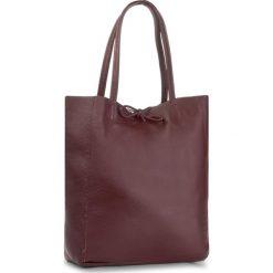 Torebka CREOLE - K10428 Bordo. Czerwone torebki klasyczne damskie Creole, ze skóry, duże. W wyprzedaży za 159,00 zł.