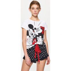 Piżamy damskie: Dwuczęściowa piżama disney - Biały