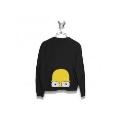 Bluza Przyczajony Homer Męska. Czarne bluzy męskie Failfake, m. Za 160,00 zł.