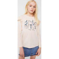 Bluzki dziewczęce bawełniane: Mango Kids - Bluzka dziecięca Nana 110-164 cm