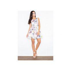 Sukienki: Sukienka M386 Kwiaty