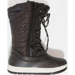 Fullstop. SKATY Śniegowce black. Szare buty zimowe damskie marki fullstop., z materiału. W wyprzedaży za 135,85 zł.