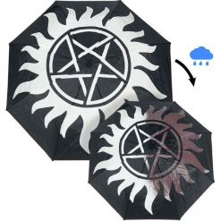 Supernatural Anti Possession Parasol standard. Czerwone parasole Supernatural. Za 79,90 zł.