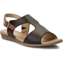 Sandały damskie: Sandały JENNY FAIRY - WS17200-1 Czarny