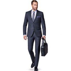 Garnitur Szary Sapporo. Szare garnitury marki LANCERTO, z tkaniny. W wyprzedaży za 699,90 zł.