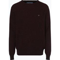 Fynch Hatton - Sweter męski, czerwony. Czerwone swetry klasyczne męskie Fynch-Hatton, m, z bawełny. Za 349,95 zł.