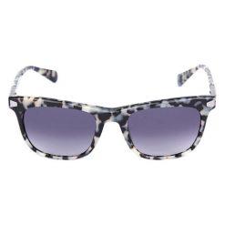 """Okulary przeciwsłoneczne damskie: Okulary przeciwsłoneczne """"BL204902"""" w kolorze biało-czarno-granatowym"""