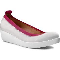 Buty damskie: Półbuty A.J.F. - P0869 Białe 617/611