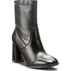 Botki LASOCKI - 165620-02 Czarny. Czarne buty zimowe damskie Lasocki, z materiału. Za 279,99 zł.