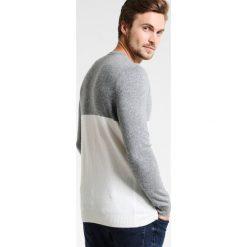 Swetry klasyczne męskie: Sisley Sweter offwhite