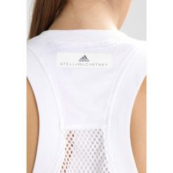 Topy sportowe damskie: adidas by Stella McCartney ESSENTIALS STRIPE Top white/equipment pink