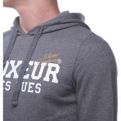 Bejsbolówki męskie: BOXEUR Bluza męska szary melanż r. XL (BXE-4791F)