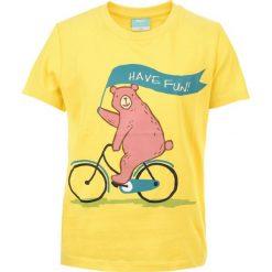 T-shirty chłopięce: Koszulka BAAR KIDS YELLOW 122