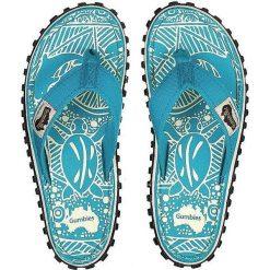 Chodaki damskie: Gumbies Japonki Gumbies Islander Canvas Flip-Flops Turquoise Pattern turkusowe r. 37