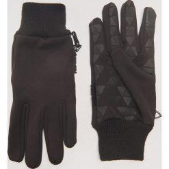 Rękawiczki - Czarny. Czarne rękawiczki męskie marki KIPSTA, z poliesteru, do piłki nożnej. Za 49,99 zł.