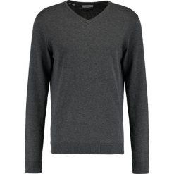 Swetry klasyczne męskie: Selected Homme TOWER Sweter medium grey melange