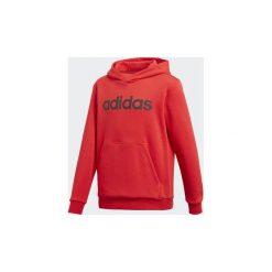Bluzy Dziecko adidas  Bluza z kapturem Linear. Czerwone bluzy chłopięce rozpinane marki Adidas, z kapturem. Za 179,00 zł.