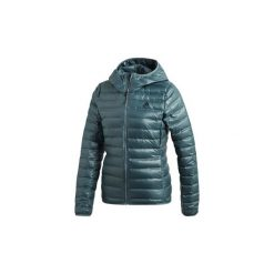 Kurtki pikowane  adidas  Puchowa kurtka z kapturem Varilite. Białe kurtki damskie pikowane marki Adidas, m. Za 449,00 zł.