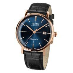 ZEGAREK EPOS Originale 3437.132.24.16.25. Niebieskie zegarki męskie EPOS, ze stali. Za 5700,00 zł.