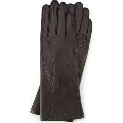 Rękawiczki damskie: 39-6L-225-BB Rękawiczki damskie