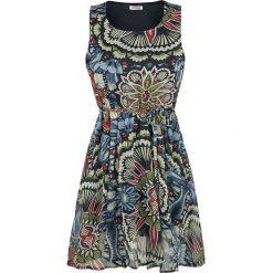 Innocent Sanna Dress Sukienka biały. Niebieskie sukienki marki Innocent, xl, w ażurowe wzory, z materiału, z dekoltem na plecach. Za 99,90 zł.