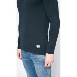 Blend - Sweter. Brązowe swetry klasyczne męskie marki Blend, l, z bawełny, bez kaptura. W wyprzedaży za 49,90 zł.