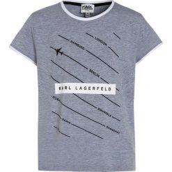 T-shirty chłopięce: KARL LAGERFELD Tshirt z nadrukiem meliertes grau