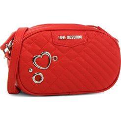 Torebka LOVE MOSCHINO - JC4078PP16LL0500 Rosso. Czerwone listonoszki damskie marki Love Moschino, ze skóry ekologicznej. W wyprzedaży za 459,00 zł.