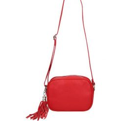 """Torebki klasyczne damskie: Skórzana torebka """"Auteuil"""" w kolorze czerwonym – 20 x 6 x 15 cm"""